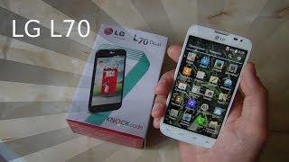 lG L70, dual SIM. Свежий Обзор / Арстайл