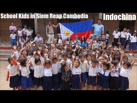 Travel to Asia: Our Outreach Program in Siem Reap Cambodia - Indochina