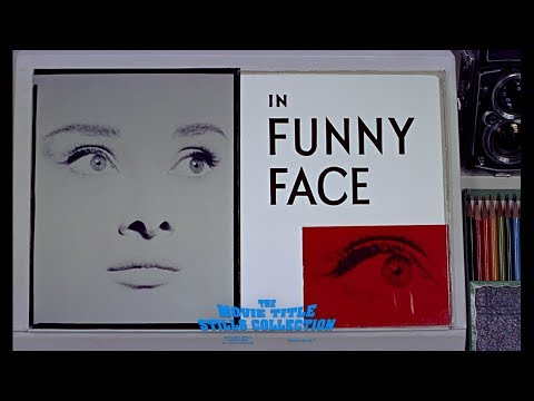 Funny Face 1957 title sequence