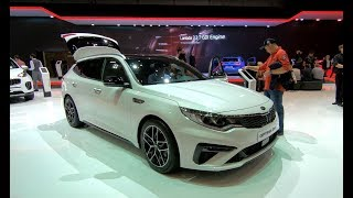 KIA OPTIMA SW SPORTSWAGON GT-LINE NEW MODEL 2018 WALKAROUND + INTERIOR