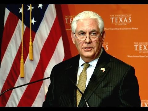 BREAKING: Secretary of State Rex Tillerson Give IMPORTANT Speech on GLOBAL Policy Priorities