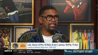"Jalen ""overrated"" Lakers def. Warriors 126-93 