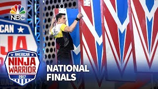 Sean Bryan at the Las Vegas National Finals: Stage 3 - American Ninja Warrior 2017