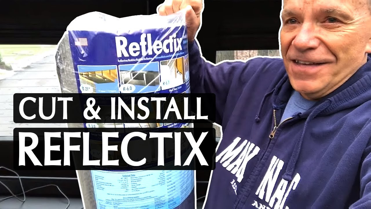 Winterize Your Rv Reflectix Window Covers Youtube