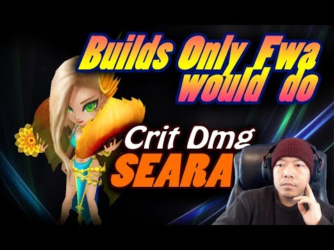 SUMMONERS WAR - Builds Only Fwa would do - Crit Dmg SEARA
