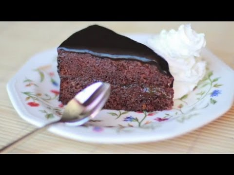 Tarta Sacher Auténtica - Recetas de postres