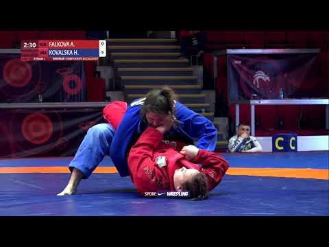 Round 3 Women's GP GI - +71 kg: A. FALKOVA (RUS) v. H. KOVALSKA (UKR)