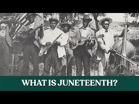 June 19, known as Juneteenth, commemorates the end of slavery and the Civil War., From YouTubeVideos