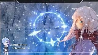 Nightcore - Attention (Female Version) [Lyrics]