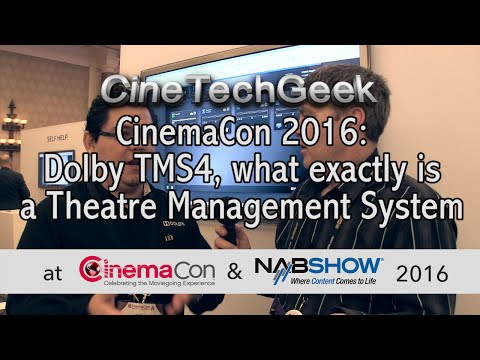 CC16 Dolby TMS4, what exactly is  a Theatre Management System