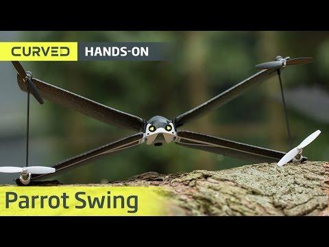 Parrot Swing im Test: die unkaputtbare X-Wing-Drohne | deutsch