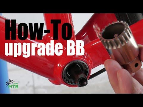 BB Upgrade  Square Taper to Shimano Hollowtech II, SRAM GXP, DUB  Trek Marlin Upgrade