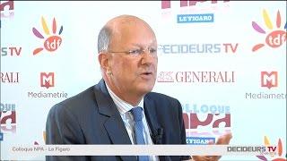Colloque NPA-Le Figaro 2015 : Rémy Pfimlin, FRANCE TELEVISIONS