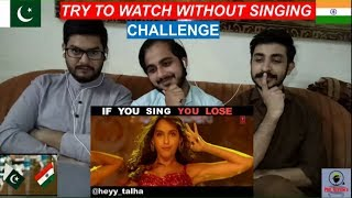 Pakistani Reaction On Try To Watch This Without SINGING or DANCING Challenge | PAK Review