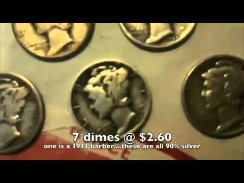 Coins traded for money...03/11/11 Silver maybe to $36 again???