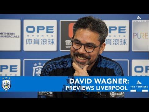 WATCH: David Wagner previews Huddersfield Town vs Liverpool