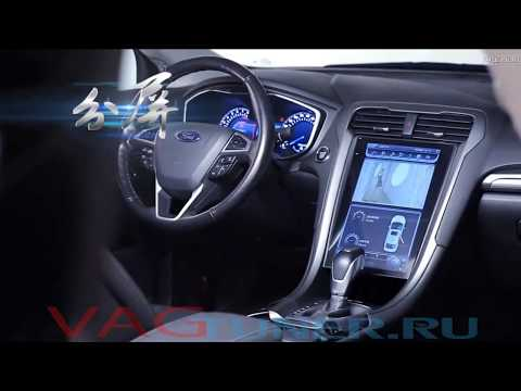 Обзор Андройд магнитолы в стиле Тесла для Ford Mondeo