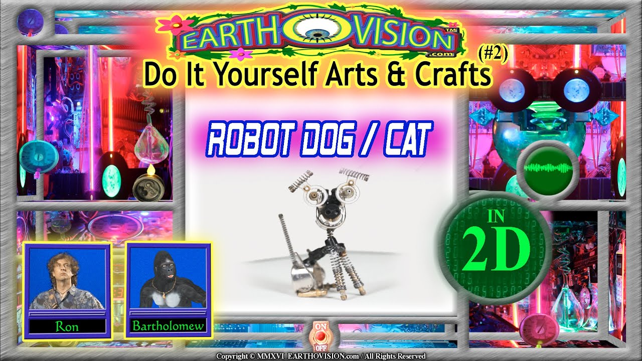 How to make a robot dog cat from lighter parts diy 2 in 2d how to make a robot dog cat from lighter parts diy 2 in 2dlighterbots rock band series solutioingenieria