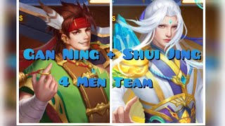 Battle Replay ~ Interesting 4-Men Team ~ Gan Ning Shui Jing Combo (2.5B Vs 1.8B)