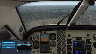 X-Plane 11- EFHF laskeutuminen