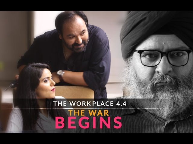 "The Workplace | Ep-4.4 | Love Is War - ""The War Begins"""