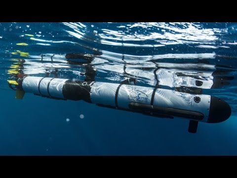 IVER 3 Unmanned Underwater Vehicle