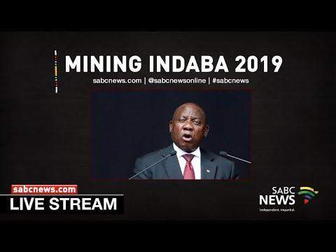 President Ramaphosa Addresses The Mining Indaba