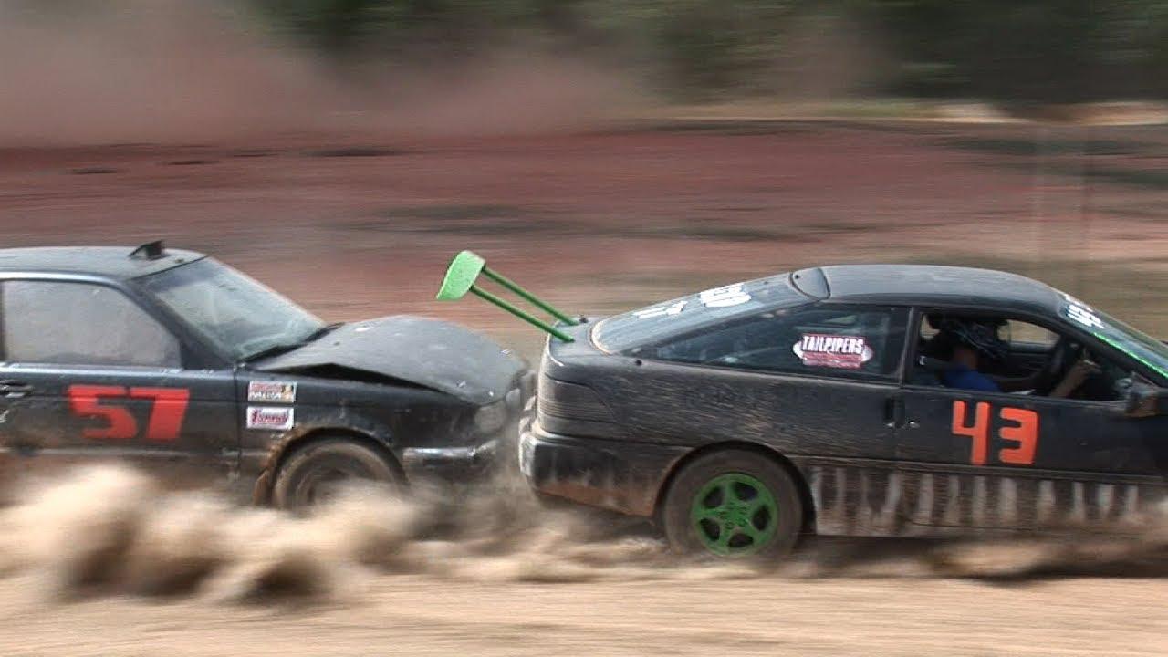 Racing Junk Cars For Cash Redneck Rallycross Highlights Youtube
