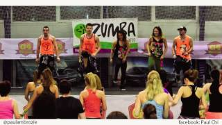 Alex Duvall - Por que no le dices - Zumba Fitness Choreo by Paul Chi