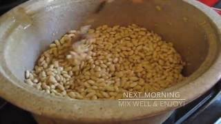 vegan homemade natto using slow cooker