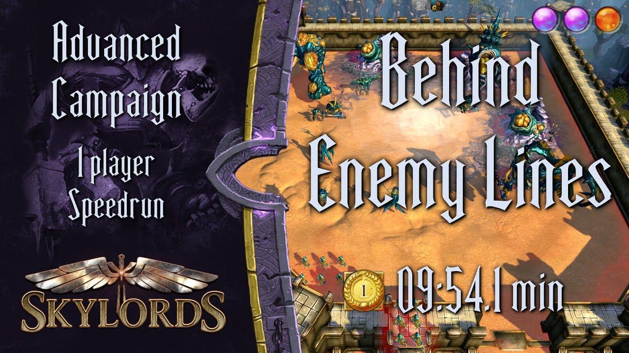 Behind Enemy Lines Advanced #1 | Speedrun in 09:54.1 - Skylords Reborn PvE Contest #2 | BattleForge