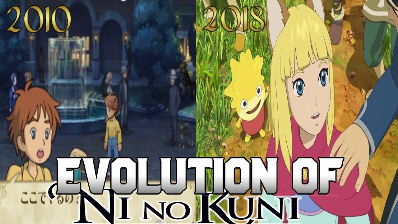 Graphical Evolution of Ni no Kuni (2010-2018)