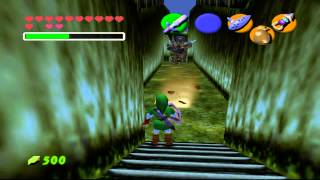 The Legend of Zelda - Ocarina of Time - Master Sword moves - User video