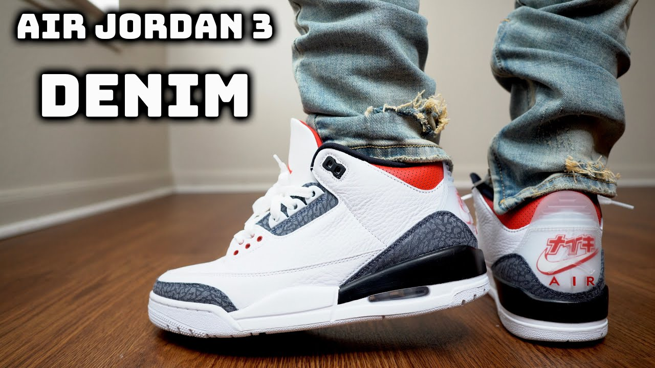 air jordan 3 denim