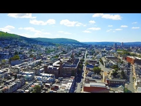 Exploring Reading, Pennsylvania - Drone Footage
