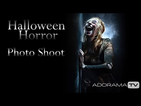Halloween Horror Photo Shoot: Take And Make Great Photography With Gavin Hoey