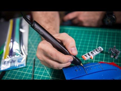 Tested In-Depth: 3Doodler 3D Printing Pen