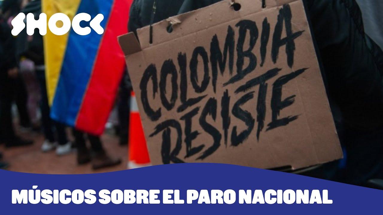 Músicos ayudan a visibilizar las protestas del Paro Nacional en Colombia - Shock