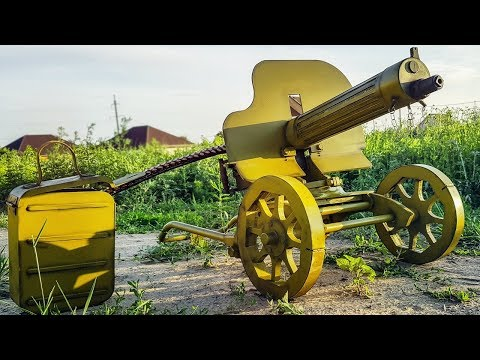 AIRSOFT MAXIM MACHINE GUN FROM Battlefield V HOW TO MAKE