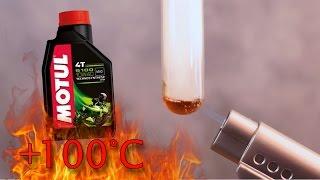 Motul 5100 4t 10W40 Jak czysty jest olej silnikowy? Test powyżej 100°C