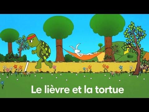 Le li vre et la tortue fable de la fontaine par sidney - Dessin du lievre et de la tortue ...