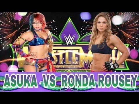 WWE 2K18 ASUKA VS RONDA ROUSEY at WRESTLEMANIA!!!!!!