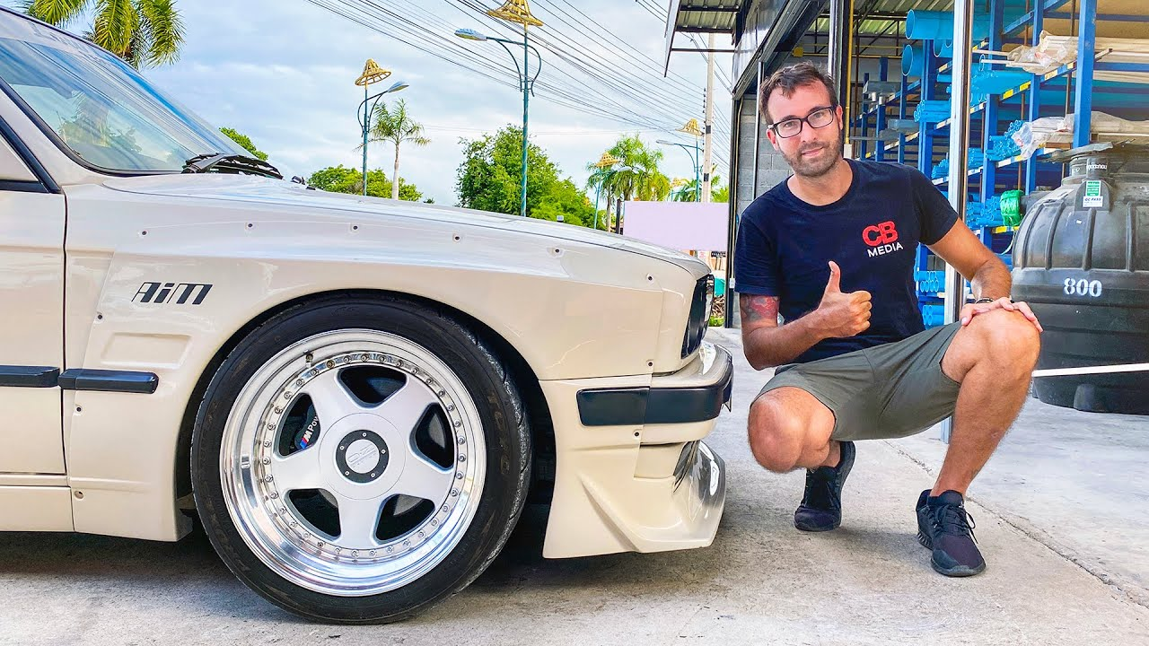 Buying My 1st Car in Thailand and it's SICK! V8 + Widebody!