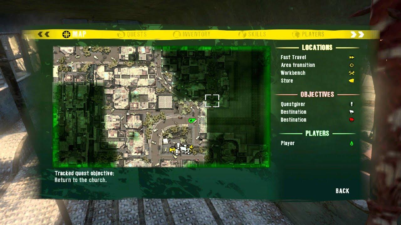 Jungle Dead Island Map