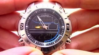 Часы Casio Fishing Gear AMW-703D-1A - Инструкция, как настроить от PresidentWatches.Ru