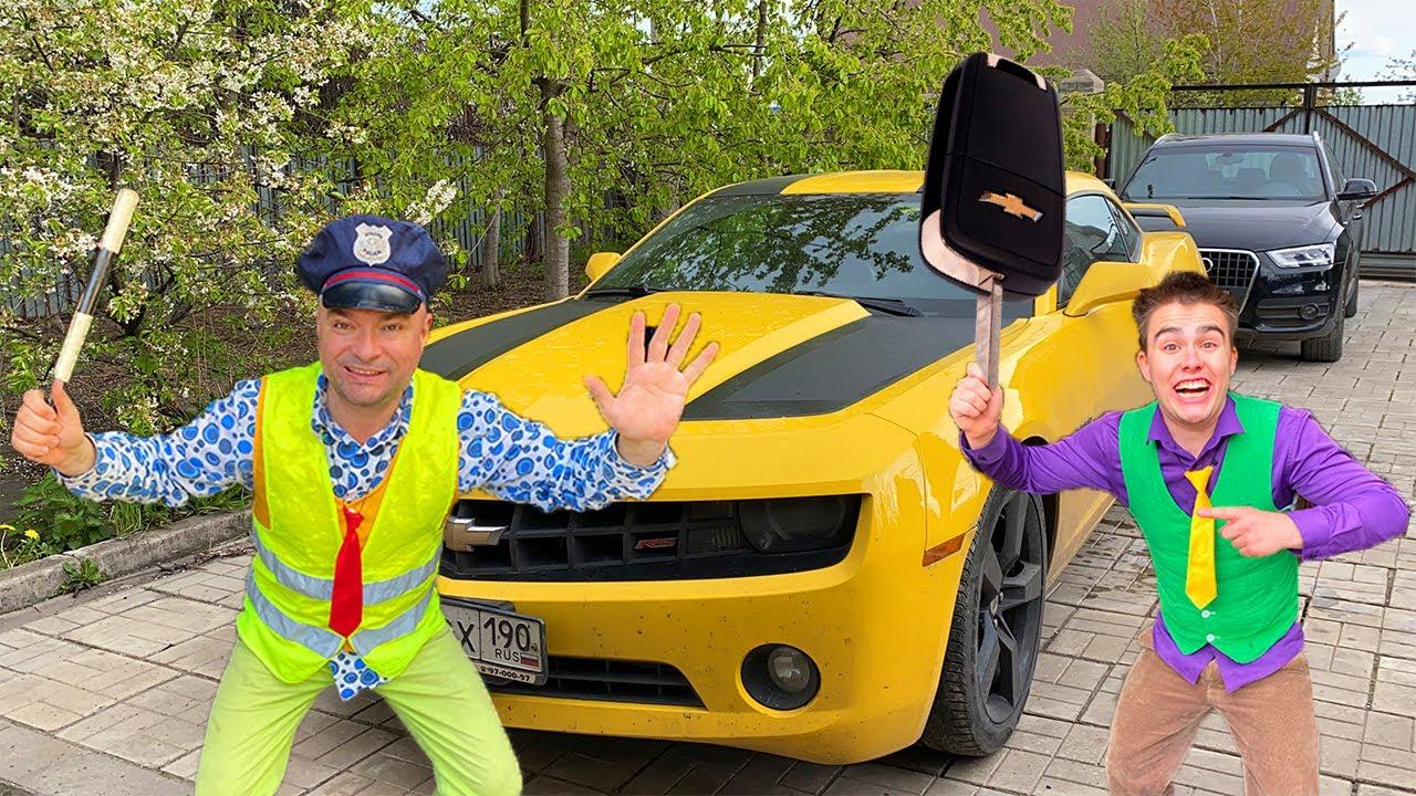 PoliceMan Mr. Joe ARRESTED Football Player Mr. Joe on Audi Q3 13+