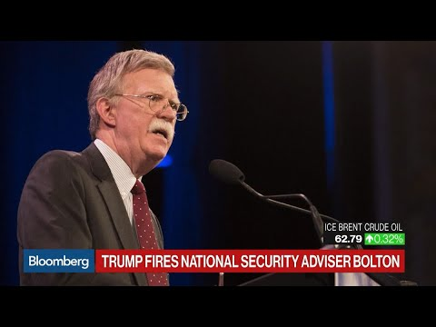 Trump ousts John Bolton, his third national security advisor