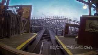 Let's Ride  Boardwalk Bullet Roller coaster - Kema