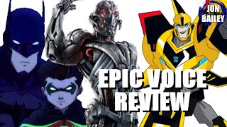 AVENGERS: AGE OF UTRON & More (Epic Voice Review)