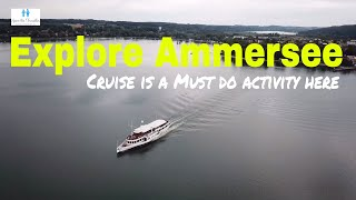 Visit Germany | Cruise in Ammersee | Lakes in Germany | Germany Travel Vlogs